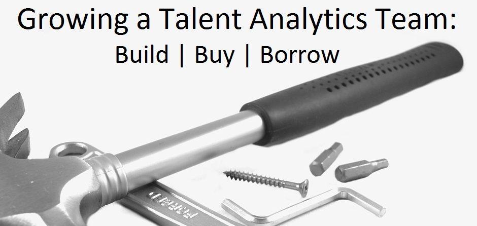 build talent analytics team