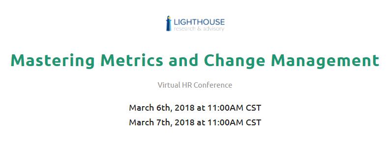 Virtual HR Training Event: HR Metrics and Change Management ...