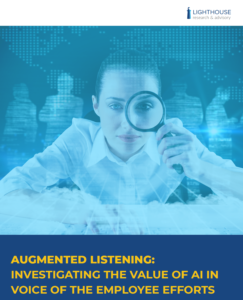 Augmented Listening Report