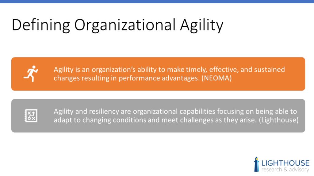 organizational agility definition