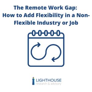 flexibility remote work